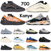 kanye 700 baskets pour hommes Clay Brown Azael Alvah Sun Bright Blue Utility Black Vanta MNVN Orange Bone baskets de sports de plein air pour femmes 36-45