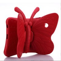 Butterfly Stand EVA Shockproof Tablet Cover for iPad 2 3 4 Air Air2 mini Pro New iPad 9.7inch Kids Case