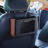Universal Car Rear Trash Can Foldable Hanging Bracket Car Multifunctional Umbrella Storage Bucket Car Waterproof Storage Bags