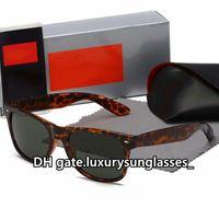 Gafas de sol Unisex para hombres Mujeres 2021 Metal Marco completo 2140 Clásico Diseñador de vintage de lujo Piloto de lujo Camaféteres Fashion Eyewear Accesorios Occhiali da Sole