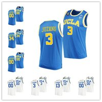 Personalizado 2021 NCAA Final Fur Four UCLA Bruins Basketball Jersey 3 Johnny Juzang 5 Chris Smith College Jaime Jaquez Jr Tyger Campbell Cody Riley David Singleton Jake Kyman