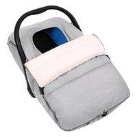 Windelbeutel Baby Auto Sitzbezug Warm Coral Fleece Futter Winter Gemütliche Universal Fit Kind Carrier Covers Für das Halten Ihres