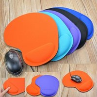 Mouse Pads & Wrist Rests Soft Solid Color Thick Protective Fabric EVA PU Gaming Pad Colorful Mat Non Slip Gift