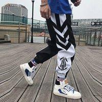 Streetwear Hip Hop Joggers Pantalons Hommes Pantalons Harem Pantalons de la cheville Pantalon Pantalon Sport Sport Pantalon View Techwear