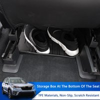 Car Under Seat Storage Box Bottom Pallet Organizer Stowing Tidying Fits For Forester 2021 Accessories