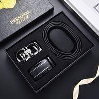 Casual Elegant Business Cintos Chegadas Homens Grandes Vendas Designers de couro Black Belt Outdoor Automatic Headcoat Meninos Terno Calças Personalizadas Cintura