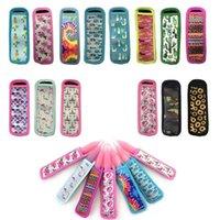 Neoprene Popsicle Sleeves Insulated Freezing Icypole Holders for Children's Summer Cactus, Sunflower, Dog, Tie-dye 14 Colors4VXR 2TRW E