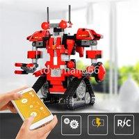 App Kontrol Robot Uyumlu Çizmeler 2021 Son Yaratıcı Araç Kutusu Set Programlama Aimubot Çocuk Oyuncakları Yapı Taşları FY4537-FY4540