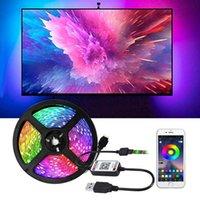 Strips Bluetooth Led Strip Rgb Smd Waterproof Gamer Room Decoration Tape Diode Usb 5v PC Tv Backlight Lights For