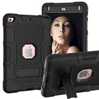 Heavy Duty Rugged Full-Body Cover Holder Shockproof Case Drop Protection stand for iPad Mini 5 Mini 4 Cases