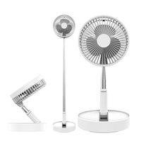 Wiederaufladbare USB-Fans Tragbare Klemmventilator 180 Grad rotierender Ventilator Air Cooler Desktop für Home Office Party Gunst