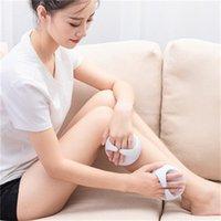 Ootdty Handheld Bad Dusche Anti Cellulite Ganzkörper Massagebürste Abnehmen Schönheit Z07 Drop Shipping Y1126 937 R2