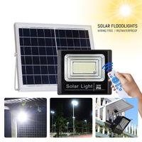 Solar Lamps Lights Outdoor Led Floodlight 25W 40W 120W 200W High Bright Spot Flood Light With Motion Sensor Lamp