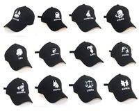 Gestickte Kappe / Sternzeichen Kappe / Mode Hip-Hop-Kappe / Sommer Outdoor Cap / Freizeit Cap / Hut Baseball Cap / Hysteresen