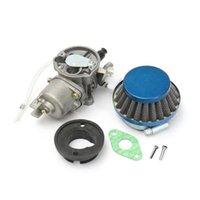 Assemblaggio del filtro dell'aria del carburatore del moto Shim per 43cc 47cc 49cc Mini Moto ATV System Pocket Bike Combustibile