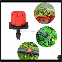 Watering Equipments Supplies Patio Lawn Home Drop Delivery 2021 100Pcsset Sprinkler Garden Micro Flow Drip Irrigation Sprinklers Adjustable W