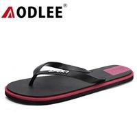 Pantofole uomo infradito flops moda sandali interni antiscivolo scarpe da spiaggia falt slides drop aodlee
