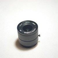 Lente 3MP 4mm 1 / 2.5 '' F1.4 CS fisso IR 3.0 Megapixel CCTV per telecamera IP di sicurezza