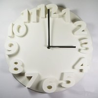 Fashion Simple Living Room And Bedroom 3D Wall Clock Modern Hang Silent Horloges For Home Decor,. Clocks