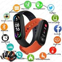 2021 Global Version M6 Band Smart Watch Men Women's Smartwatch Fitness Sports Bracelet For Apple Huawei Xiaomi Smartband Watches
