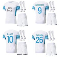 Olympique de Marseille Jersey 2021 2022 Om Marseille de Maillot Payet Thauvin Benedetto Polo Jerseys 20 21 22 Marselha Milik Camisas