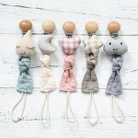 Pacifier Holders&Clips# Baby Toys Cotton Clot Plush Animal Chain Clip Accessories Soother Nipples Holder Rodent Born Toy Products