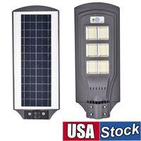 태양 가로등 624 LED 옥외 램프 IP65 모션 센서와 방수 홍수 조명 마당, 정원에 대 한 새벽 보안에 황혼