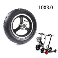 Motorcycle Wheels & Tires 10x3.0 Tire Tube&alloy Disc Brake Rims For 10 Inch Electric Scooter Zero 10x Dualtron Kugoo M4 Thickened And Widen