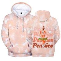 Women's Hoodies & Sweatshirts Bieb Link For Bali Store Merch Song Peaches Cool 3D Printed Casual Streetwear Men And Women