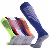 Yetişkin kaymaz Nefes Erkekler Kadınlar Yaz Koşu Pamuk Çorap Futbol Çorap Diz Yüksek Eğitim Uzun Stocking Spor Çorap Bisiklet