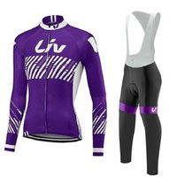 مستقيم LIV المرأة بدلة الدراجات طويلة الأكمام