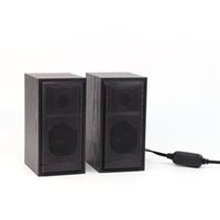 High Quality 6w USB Power PC Wooded Speaker