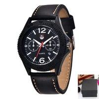 Armbanduhren Neueste Marke Uhren Mens Mode Leder Band Date Vintage Uhr Männliche Geschäftsgeschenke Einfache Quarz Montre Homme de Marque