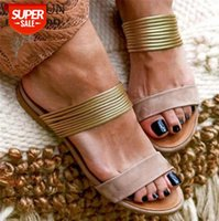 Women Rome Sandals New Summer Hot Retro Wedges Gladiator Non-slip Slippers Ladies Party Office Shoes Beach Slides #Xi7j