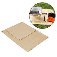 Outdoor Pads Fire Blanket Camping Glass Fiber Retardant Fireproof Thermal Resistant Mat Pad Picnic