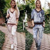 Spalato Set ST2619 Casual Winter Fashion Velvet Velvet Velvet V-Neck Abiti da tasca Autunno e