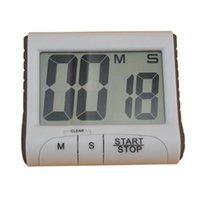 Kitchen Timers Big Digital Three-button Design Electronic Timer Reminder Multi-function Large Screen