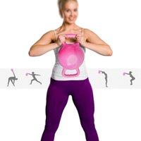Yoga Fitness Gym Equipment Sport Kettle Bell 4-12LB Adjustable Water Kettlebell Dumbbell Double Handles Pilates Body Shaping Balls
