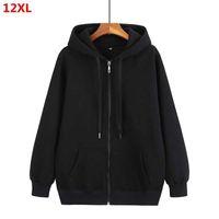Autumn Men's Zipper Cardigan Plus Size Hoodie Et Oversized Mens Hoodies Sweatshirt Men 9xl 10xl 8xl