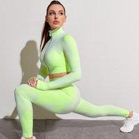 Vendas diretas da fábrica Europa e américa transversal exercício de fronteira yoga roupas executando fitness nylon nylon de secagem rápida manga longa calças sui