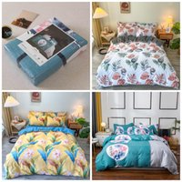 Mid Autumn Ftival National Day Gift Four Piece Set Thickened Frosted Bed Sheet Quilt Cover Bedding