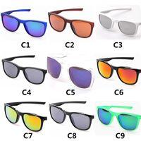 Marka Spor Güneş Gözlüğü Erkek Kadın Sürme Açık Rüzgar Geçirmez Güneş Gözlükleri UV400 Koruma Gözlüğü Gözlük 9 Renk
