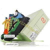 حار قبالة الأسود والأبيض ODSY-1000 شارب الزاوية أسفل خياطة اللون arrow المنصة الأحذية تنفس