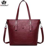 Дизайн Роскошная сумка HBP Повседневная Композиция Большие Сумки Сумки Дизайнер Известный Бренд Большой Кожаный Сумка Женщины SAC
