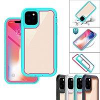 Für iPhone 6/6s 6plus 7/8 7Plus / 8Plus x x x x 11 PRO 12 PRO MAX-Schutztelefonfälle 3 in 1 Anti-Herbst-Telefongehäuse-Abdeckung für Sansung S20