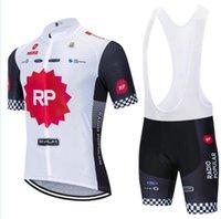 2021 팀 RP 사이클링 저지 자전거 바지 세트 19D Ropa Mens Summer Quick Dry Pro Bicycling Shirts Short Maillot Culotte Wear