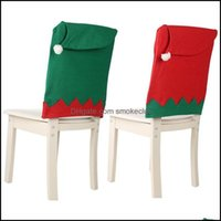 Chair Sashes Textiles Home & Gardenchair Ers 4Pcs Christmas Santa Claus Hat Dinner Back Table Party Decor Year Supplies Drop Delivery 2021 U