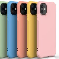 cases Mobile phone case liquid silicone protective cover, all inclusive fall proof lens soft shell