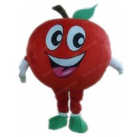 Halloween Cute Red Apple Mascot Costume High Quality customize Cartoon Plush Anime theme character Adult Size Christmas Carnival fancy dress