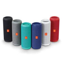 Flip 4 Bluetooth Speaker Portable Mini Wireless Flip4 Outdoor Waterproof Subwoofer Speakers Support TF USB Card With Logo